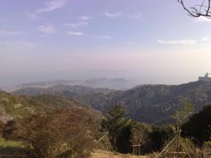 三ヶ根山の見晴らし台から