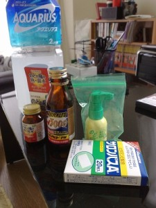 スギ薬局で色々な薬を買ってきた。