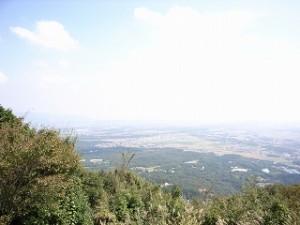 尾高山山頂にて